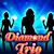 Игровой автомат на деньги Diamond Trio
